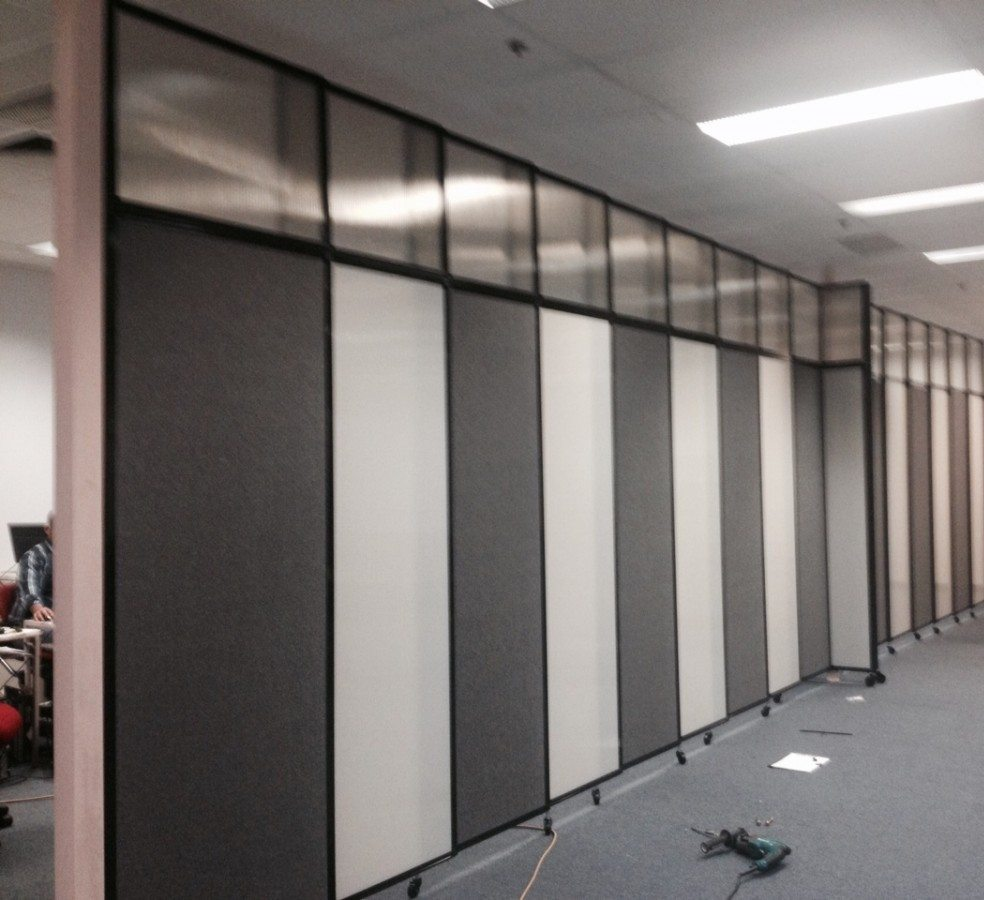 Designer Wall Partition in Corporate and Office Space - Portable Partitions