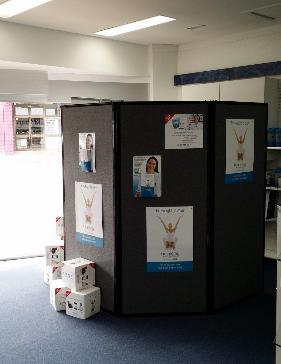 Partitions Screens for Posters - Portable Partitions