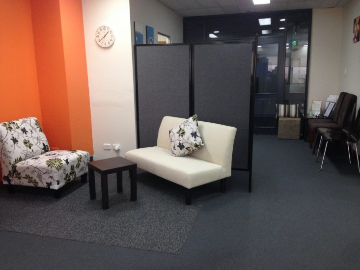 Reducing Office Distractions And Disruptions Using Freestanding Privacy Screens - Portable Partitions