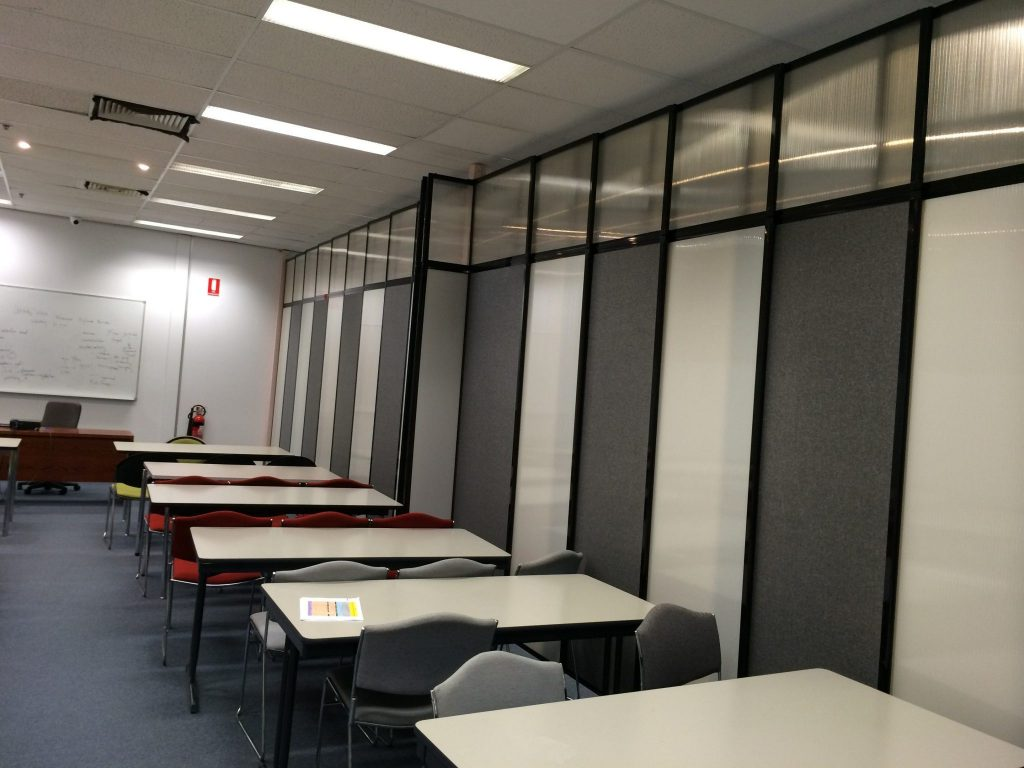 Cost Effectively Sub-Dividing Large Open Plan Offices Using Temporary Sliding Walls - Portable Partitions