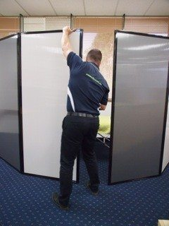 Free Standing Privacy Screens - Portable Partitions