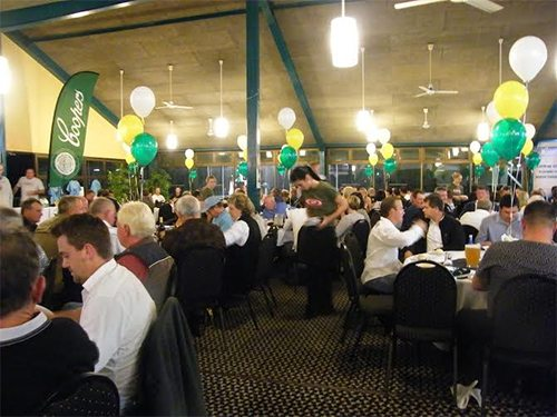 Cudgen Leagues Club: Tacky to terrific, flexible function rooms with mobile room dividers - Portable Partitions