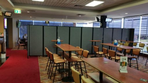 Temporary walls used in clubs - Portable Partitions