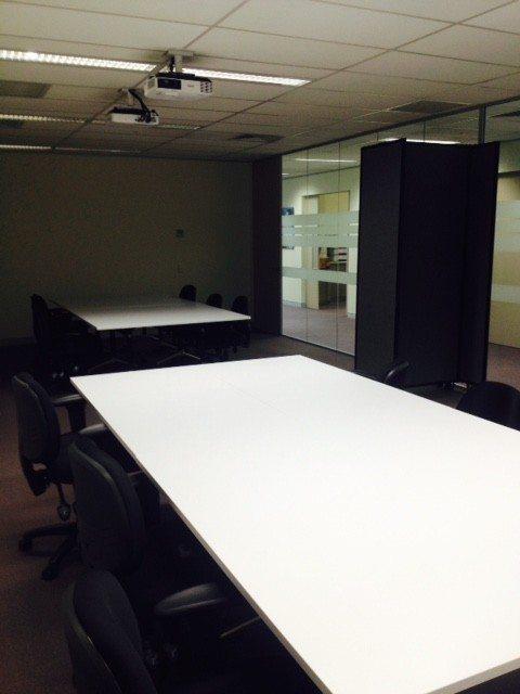 black slider room divider for office room - Portable Partitions