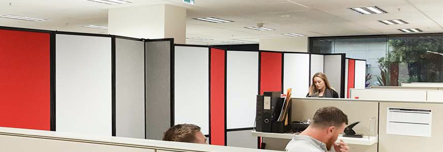 Acoustic Privacy Screens - Portable Partitions