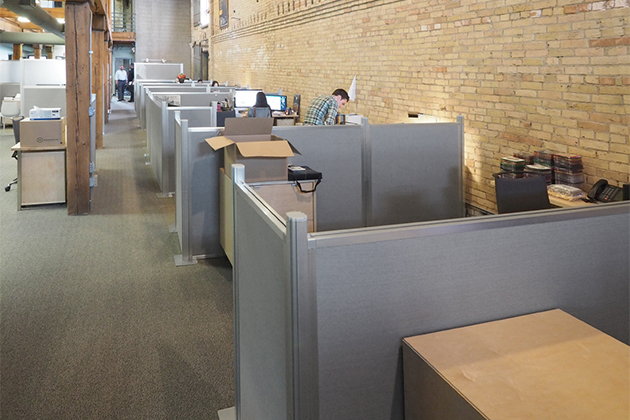 Cubicle Workstations for Office and Classroom - Portable Partitions