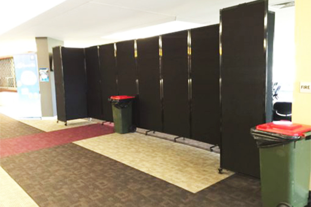 Classroom Partition - The 360 Mobile Room Divider (fabric) - Portable Partitions
