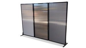 affordable polycarbonate room divider- Portable Partitions