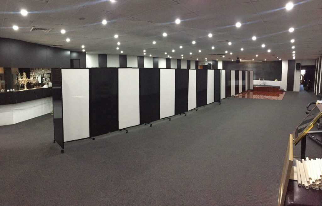 Standard Portable Partitions - Islamic Centre - Wall Partition - Portable Partitions