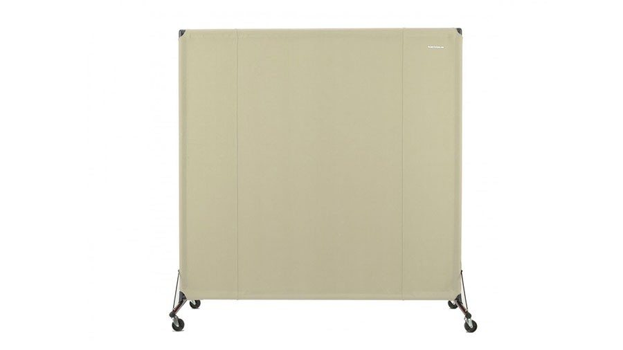 mobile privacy screen for kitchen separation - Portable Partitions
