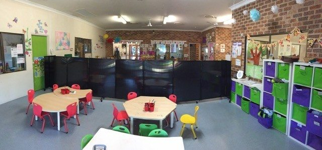 Splitting Daycare Classrooms Using Custom Height Room