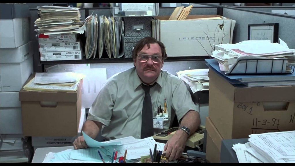 Movies such as office space capture the depressing nature of endless impersonal cubicles built without any thought for collaboration- portable partition
