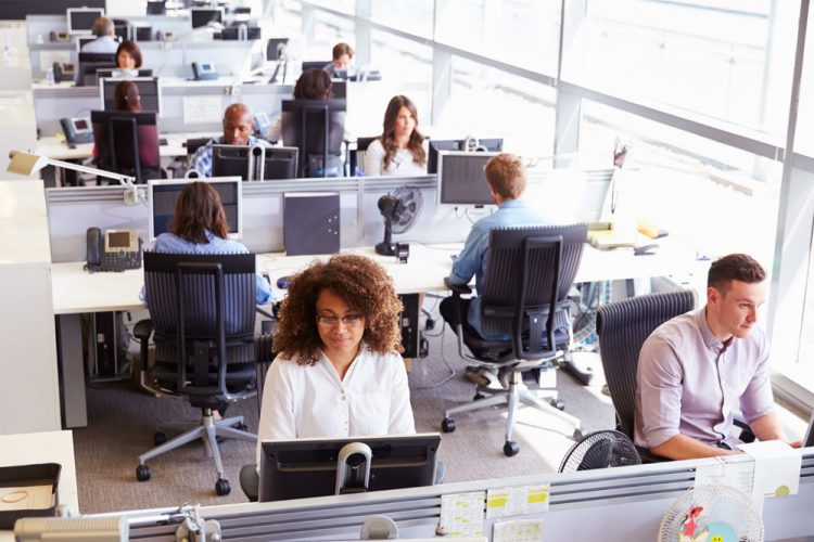 Research: Open Offices Do More Harm Than Good- portable partition