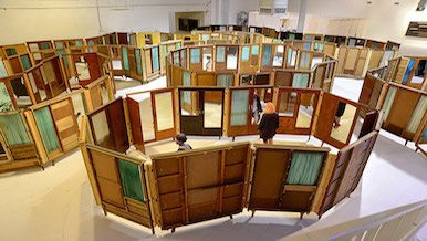 Wall Partition for Art Galleries and Museums - Portable Partitions
