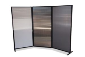 Afford-a-wall Folding Room Divider (Polycarbonate) - Portable Partitions