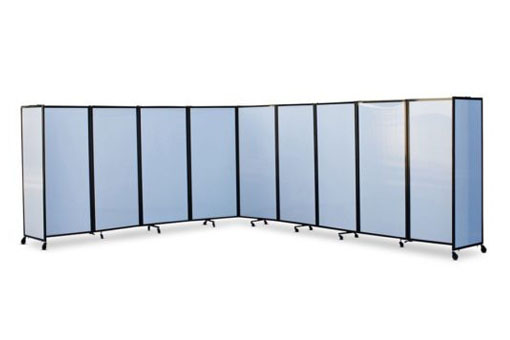 360 Degree Acoustic Portable Room Divider (Polycarbonate)