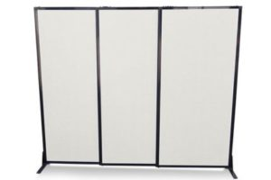 Afford-A-Wall Sliding Room Divider (Polycarbonate) - Portable Partitions