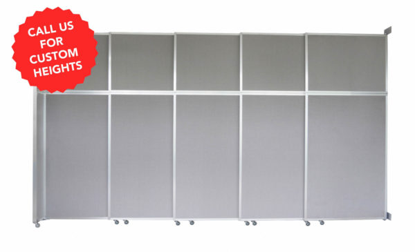 Operable Wall (Sliding) Room Divider - Portable Partitions custom heights tag