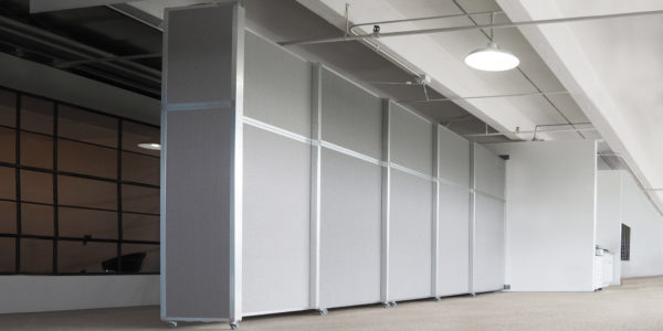 Operable Wall Sliding wallmounded room divider
