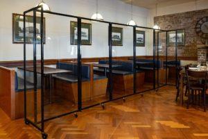360 clear hospitality venue screen