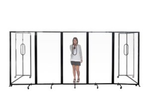 Workplace Protection Screen Perspex - Freestanding