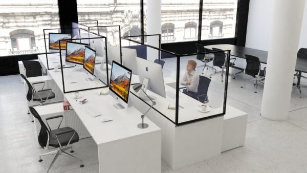 Sneeze Guards for Corporate workstations 1