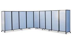 360 Portable Room Divider Polycarbonate