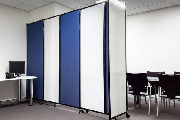 Internal office partition walls