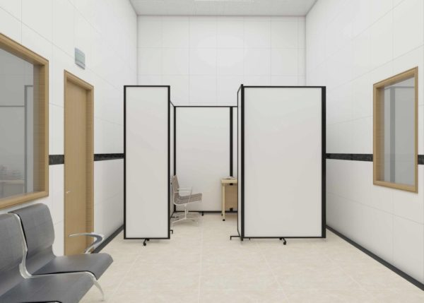 Vaccine booth - Home and Aged Care