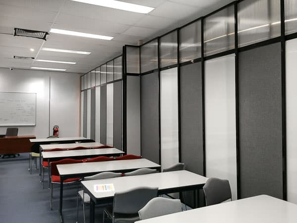 Separate One Big Classroom in Two with Classroom Divider Walls