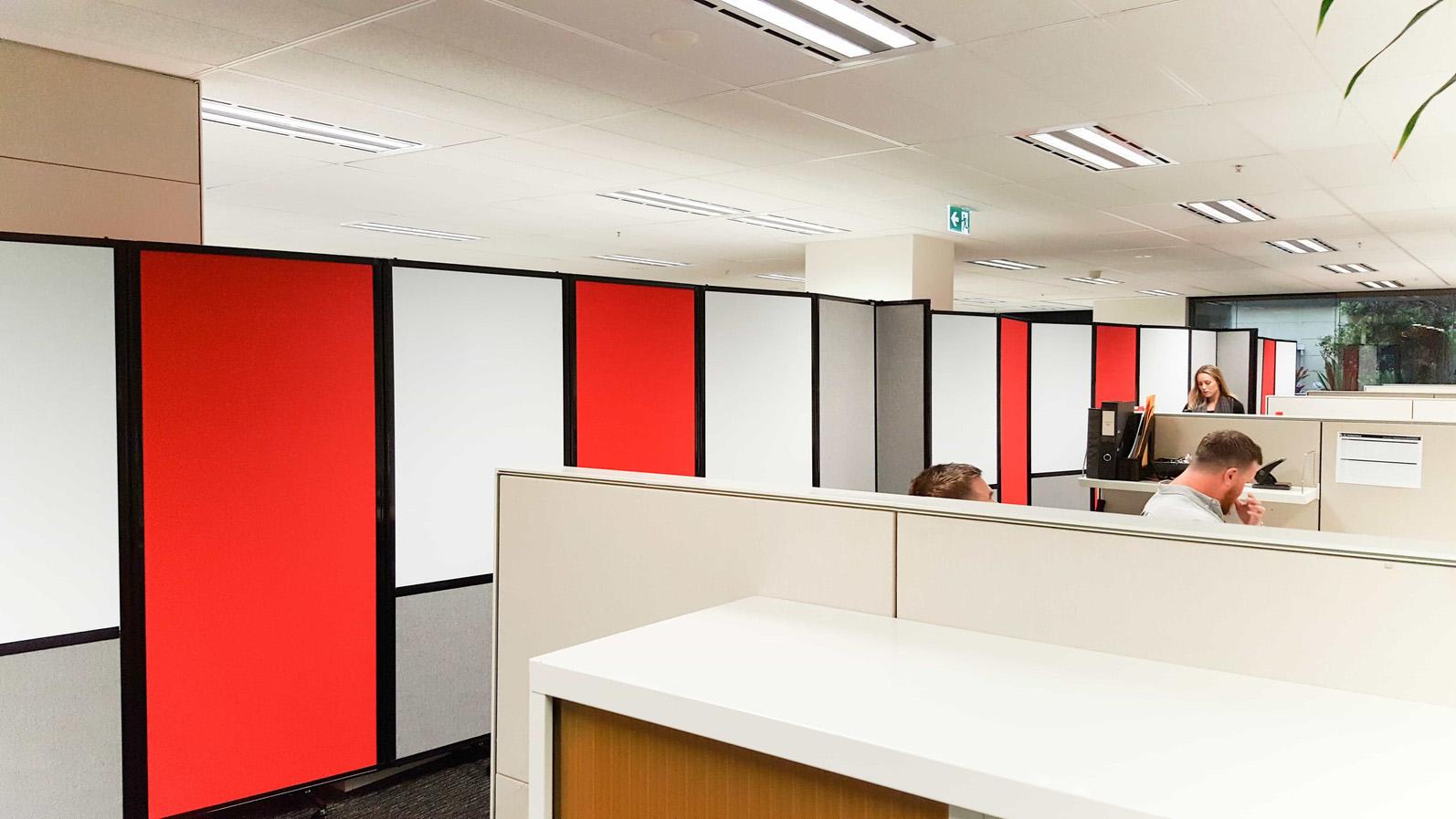 Reduce noise in open plan office