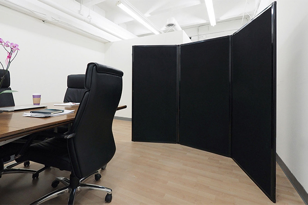 Freestanding office screens