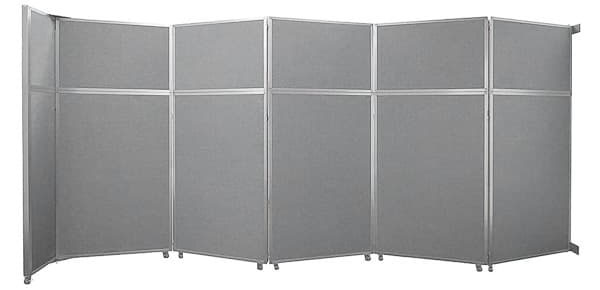 wall mounted folding operable Wall grey