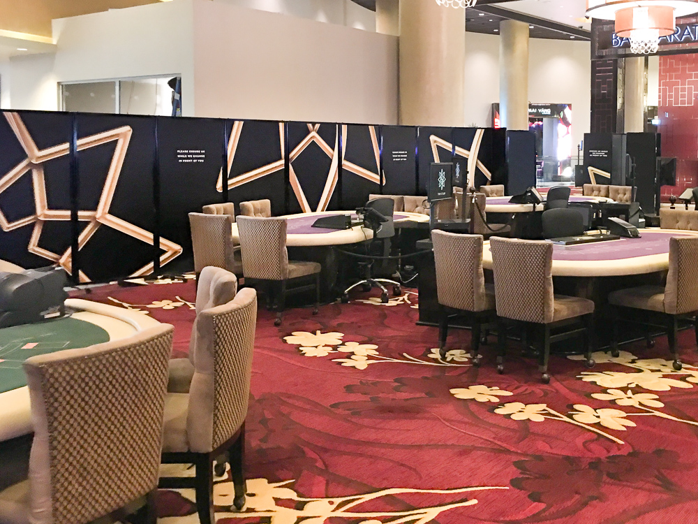Hospitality Room dividers – Casino's, Hotels & Clubs