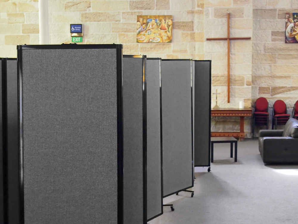 Commercial Room Dividers for Churches & Religious Centres