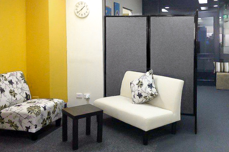 Creating private spaces for staff