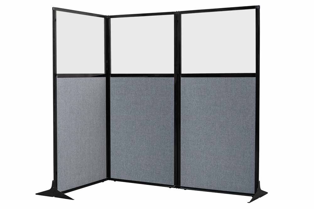 Cubicle Workstations Designs with Dimensions - Portable Partitions
